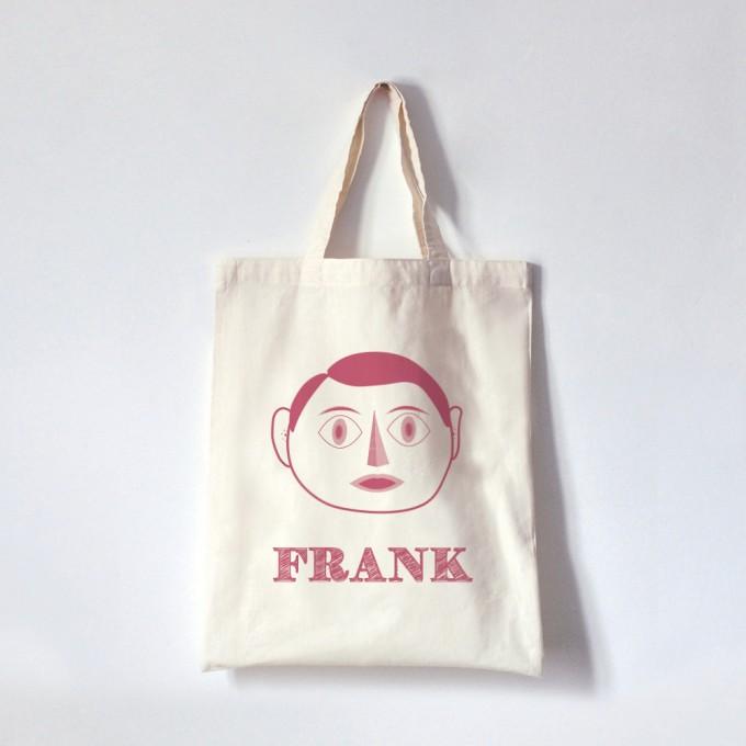 FRANK_トートバッグ_ピンク