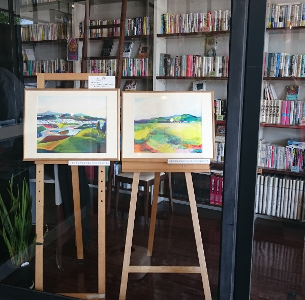 「息の跡」瀬尾夏美さんの絵画作品を展示しました