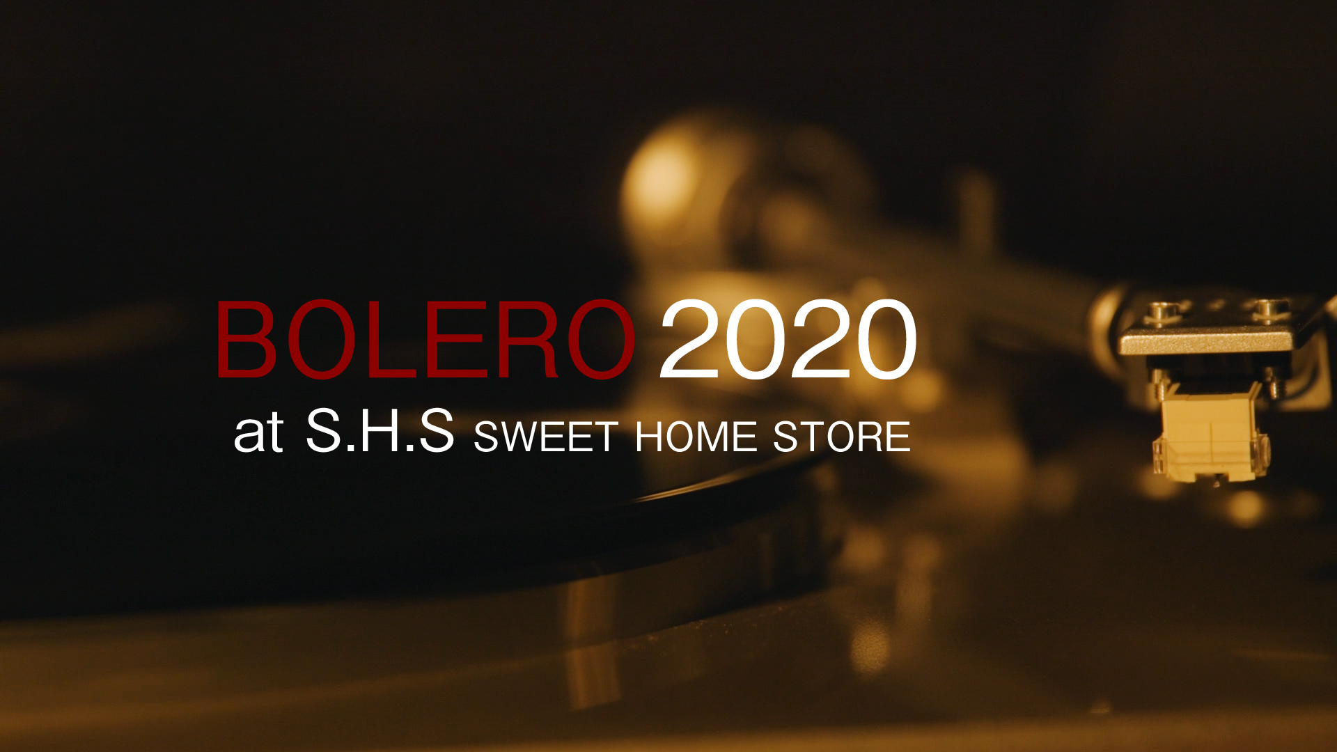 【特別上映】Noism映像舞踊『BOLERO 2020』